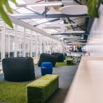 Arbetsplatsdesign som främjar samarbete och interaktion
