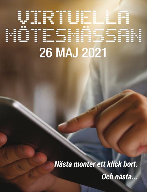 Virtuella Mötesmässan 26e maj!